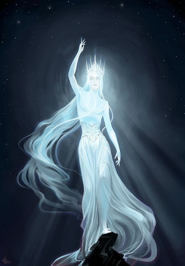 """follow me @cushite elveo-art:  """"There was Eru, the One, who in Arda is called Ilúvatar"""""""