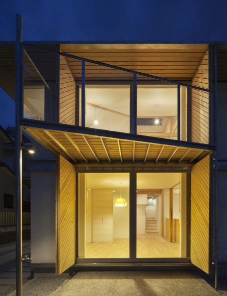 Vivienda japonesa utiliza material de madera más fuerte que el acero para combatir los desastres naturales - Noticias de Arquitectura - Buscador de Arquitectura