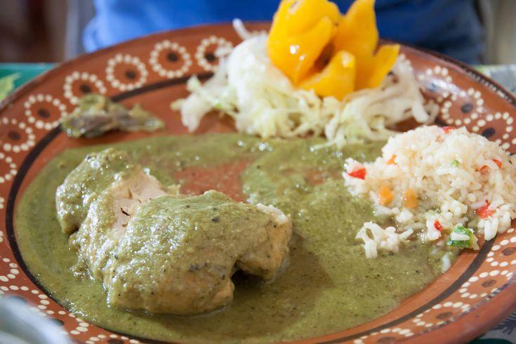 Image result for mole verde ingredients