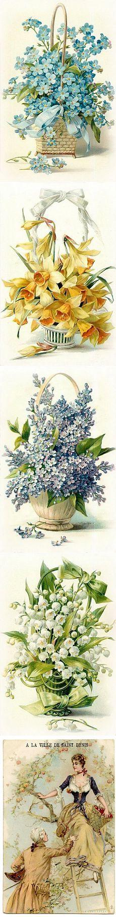 И немного цветочков / Картинки для декупажа / PassionForum - мастер-классы по рукоделию