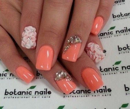 25+ best ideas about 3d Nail Designs on Pinterest | Prom nails ...