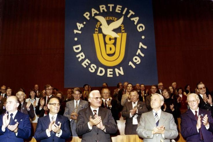 DDR - CDU Parteitag 1977