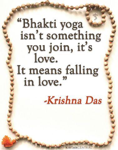 Krishna Das on bhakti yoga. www.kirtancentral.com