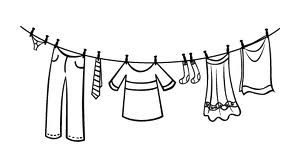 baby clotheline coloring pages | printable clothesline coloring pages - Google Search ...
