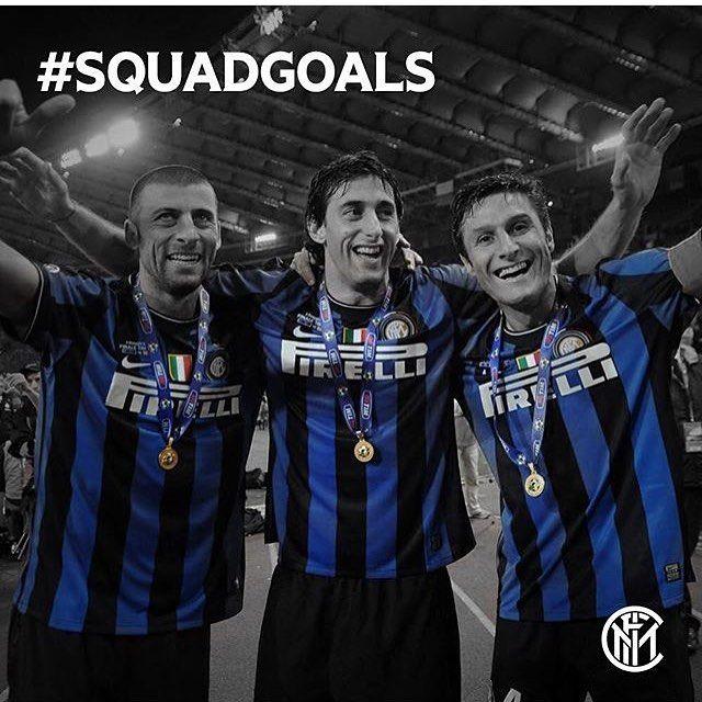 Un trio argentin de légende #squadgoals #samuel #milito #zanetti #jz4 #fcim #inter #nerazzurri #fcinternazionale #sempreinter
