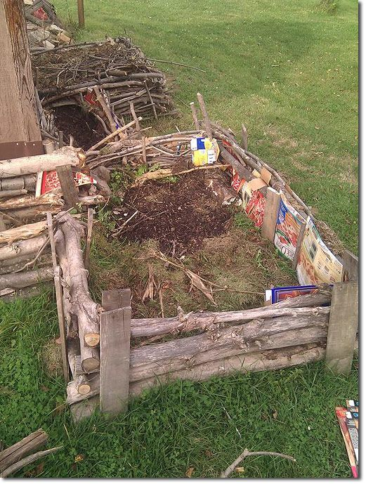 More Yard Waste to Raised Beds Permaculture Forums, Permaculture Courses, Permaculture Information & News