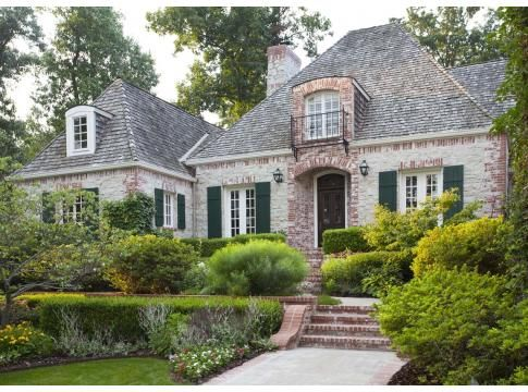 99 best french normandy and country style images on for French cottage style homes