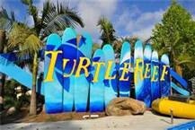 The new Turtle Reef exhibit.