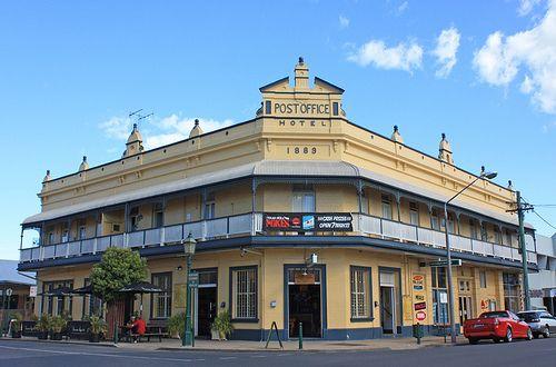 Old building,maryborough,QLD