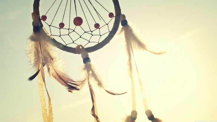 Dreamcatcher, Talisman, Indian, Feathers