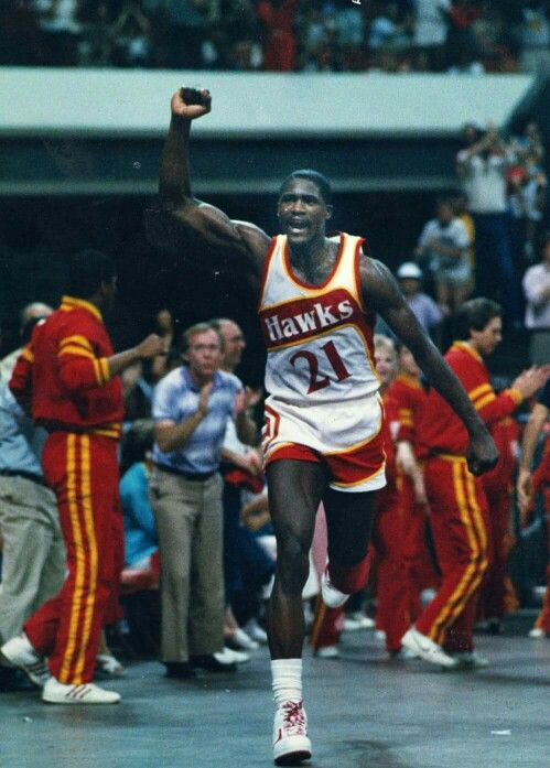 Atlanta Hawks legend Dominique Wilkins http://www.discoverlakelanier.com