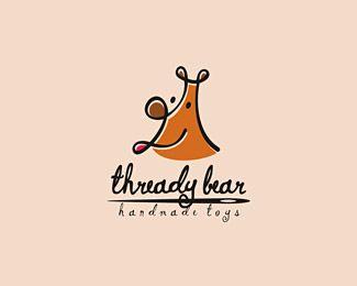 Thready Bear Handmade Toys - Hand drawn logos