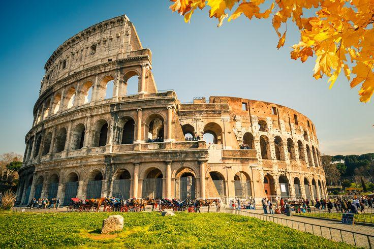 Italy, Rome, Coliseum.