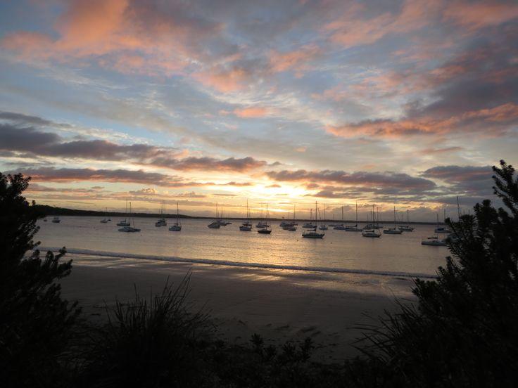 Sunrise at Callala Bay, NSW
