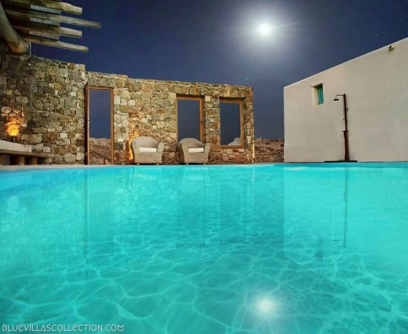 The Castor Villa in Mykonos