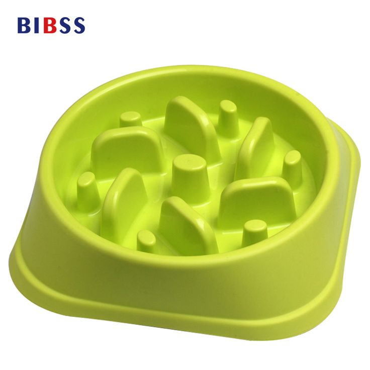 Anti Choke Pet Cat Dog Food Container Slow Eating Snacks Pet Dog Bowl For Treats Prevent Obesity Rabbits Feeder Comedero Perro #Affiliate