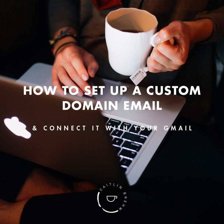 How to set up a custom domain email address to match your website and connect it with your current gmail account for free.