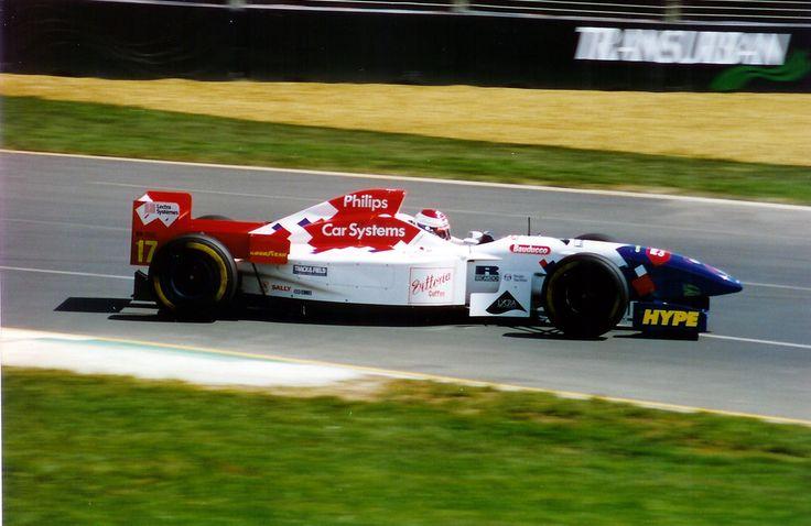 Jos Verstappen (Australia 1996) by F1-history on DeviantArt