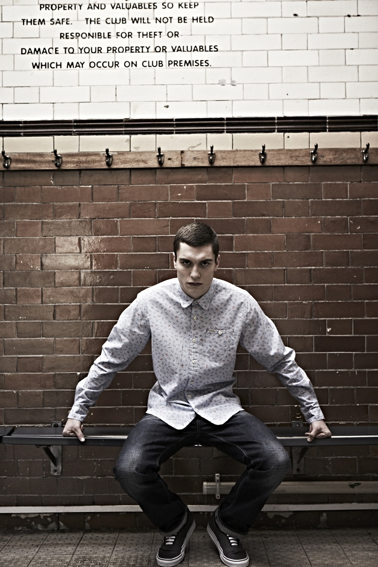 Duck and Cover SS13 - with boxer-turned-model George Admiraal