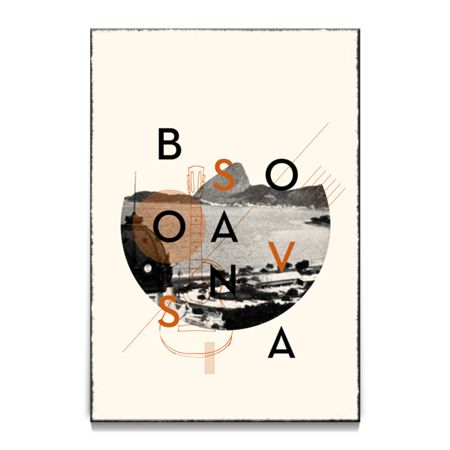 Poster Bossa Nova de @koning | Colab55