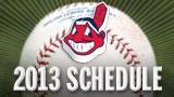 Cleveland Indians 2013 Schedule