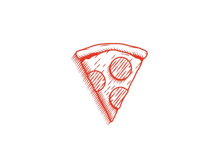 Based on the illustrations of Domino's Pizza  But the original illustrations are much better!