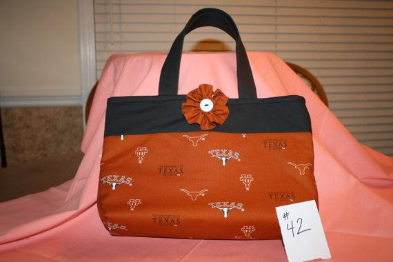 Handcrafted University of Texas Purse $22