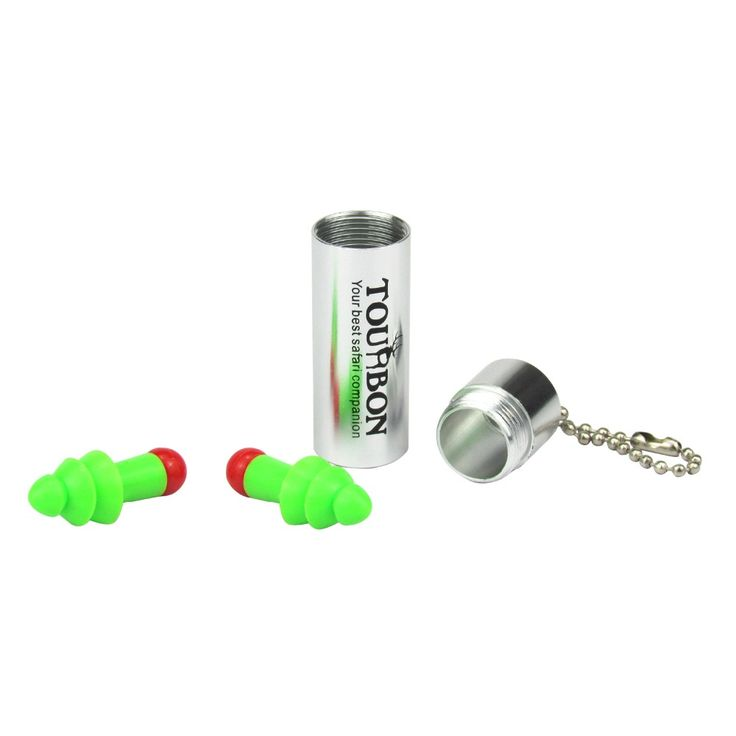 Tourbon Shooting Active Noise Cancelling Ear Plugs Ear Sleep Muff Hearing Protection Silicone Soundproof Hunting Earplugs