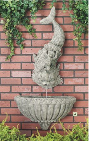 wall fountains outdoor - Google Search