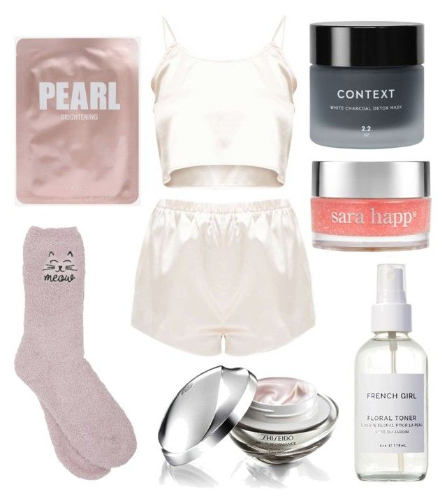 """""""outfit"""" by kwharmony on Polyvore featuring beauty, M&Co, Context, Sara Happ, Shiseido and French Girl"""
