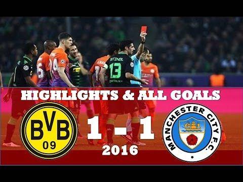 Borussia Monchengladbach vs Manchester City 1 1 ● Highlights & All Goals...