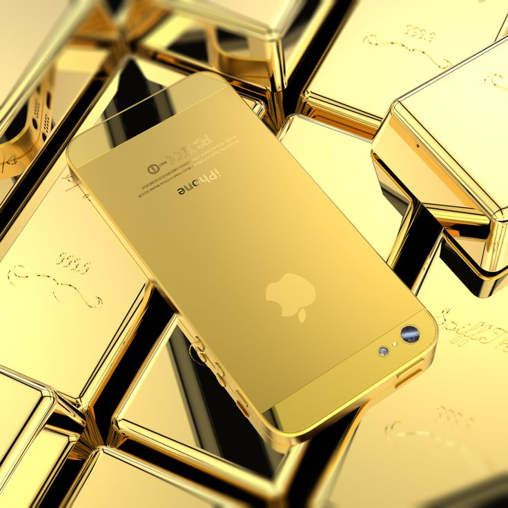 Billionaire's Golden iPhone 5