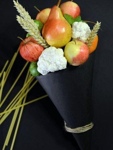 Оформление свадьбы фруктами и овощами | 47 фотографий