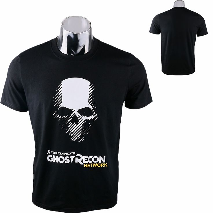 Man T-shirt Tom Clancy's Ghost Recon Wildlands Costume Cosplay T-shirt Tee Cotton Top Clothes Halloween Party Prop #Affiliate