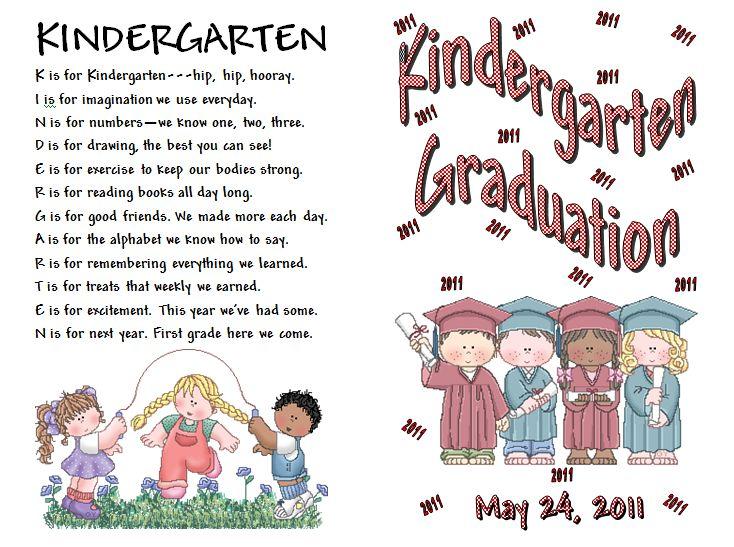 Kindergarten Poetry Book Cover ~ Best images about kindergarten graduation on pinterest