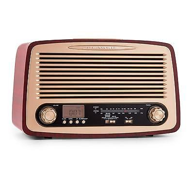 #Wooden #vintage radio retro design usb sd mp3 #music sound fm am alarm *free p&p,  View more on the LINK: http://www.zeppy.io/product/gb/2/291844137763/