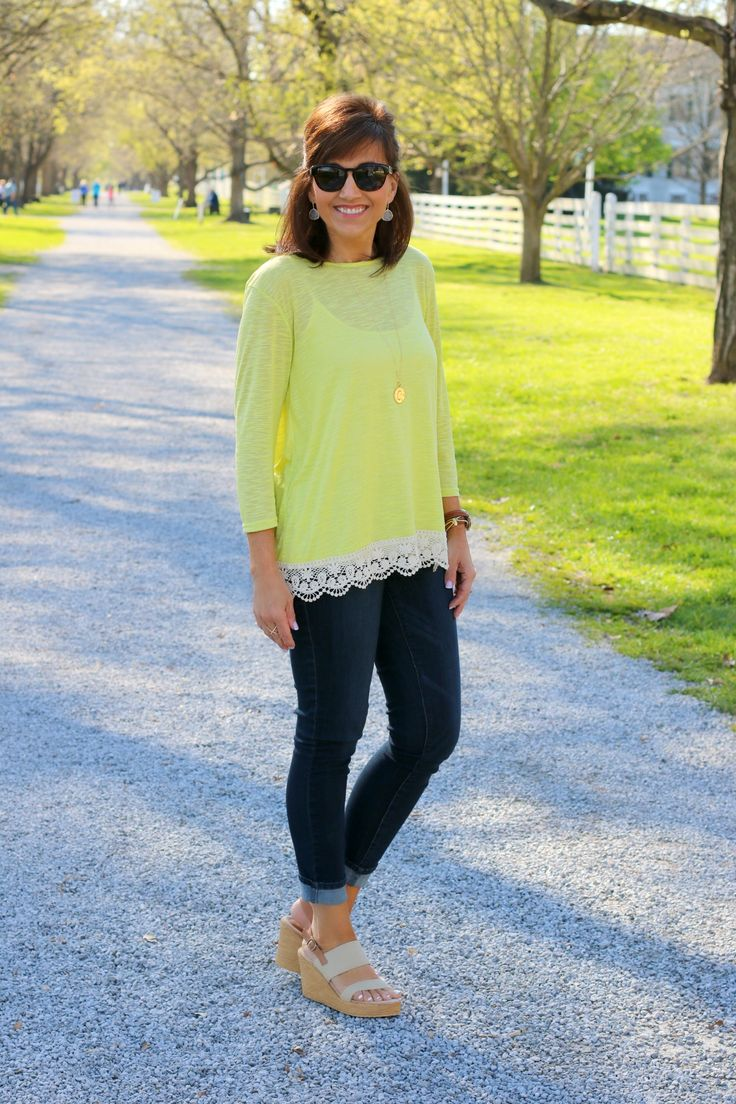 1000 Ideas About Yellow Top On Pinterest Yellow Crop Top Denise Milani And Neon Yellow Tops