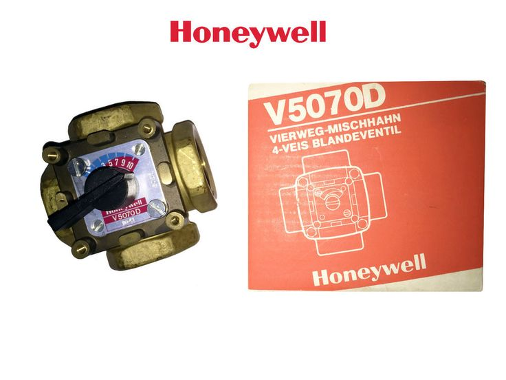 Honeywell V5070D Rotary Four Way Mixing Valve (Old Model) Unused Condition #Honeywell