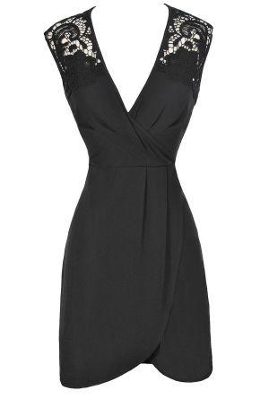 1000  ideas about Pretty Black Dresses on Pinterest  Black lace ...