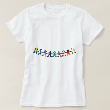 Flag Paper Dolls T-Shirt - tap, personalize, buy right now!