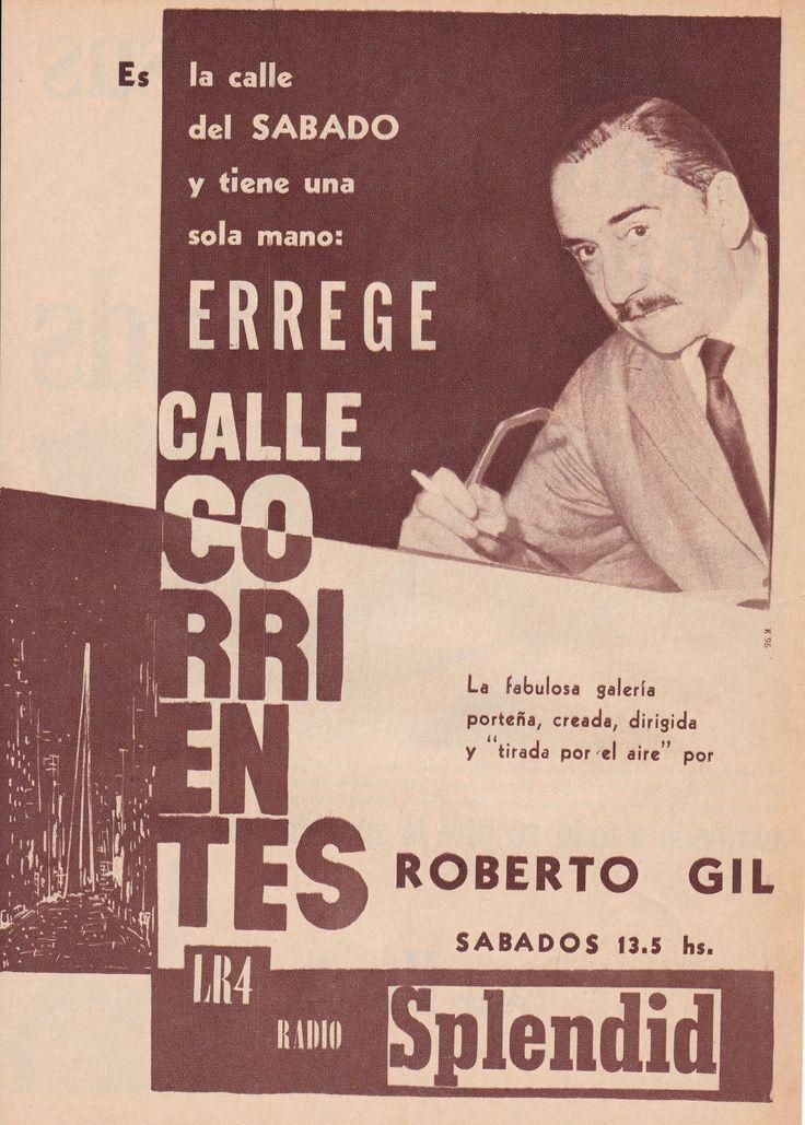 RADIO SPLENDID, Buenos Aires, 1967.