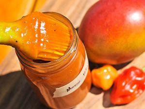 "Mango Habanero Barbecue Sauce | Serious Eats: Recipes - Mobile Beta!"""