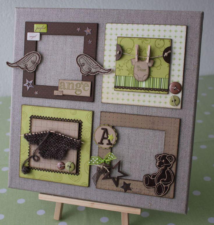 best 25 scrapbooking sur toile ideas on pinterest toile de papier de scrapbooking. Black Bedroom Furniture Sets. Home Design Ideas