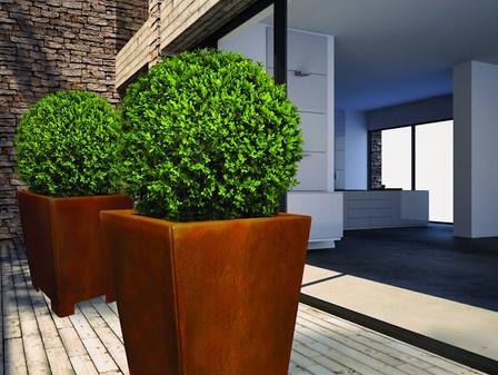 eine empfehlung f r haus und garten sind pflanzgef e aus. Black Bedroom Furniture Sets. Home Design Ideas