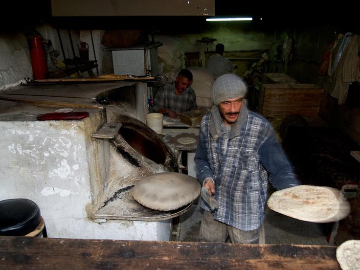 Baker's shop in Damascus