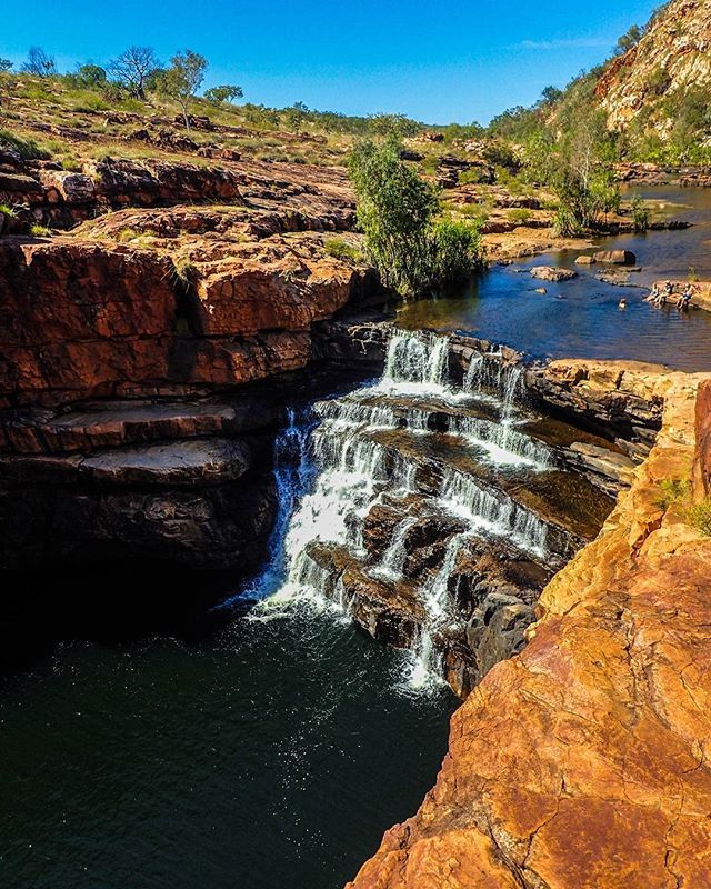 Day 13: Bell Gorge, Australia I love the outback and getting to swim in these…