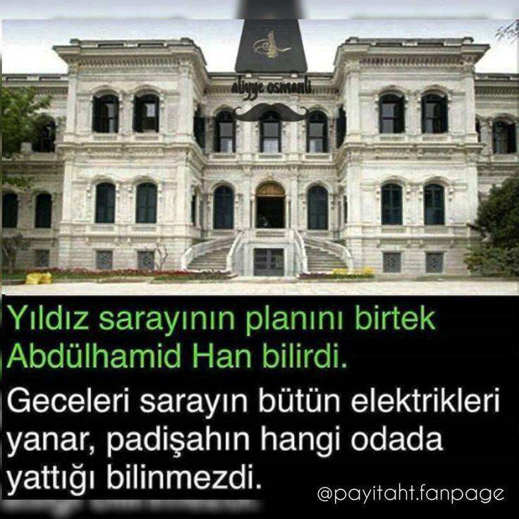 Yıldız Sarayı'nın planını bir tek Abdülhamid Han bilirdi. #OsmanlıDevleti