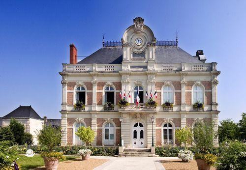 Hotel de Ville,  Beaufort-en-Vallee, Pays de la Loire, France