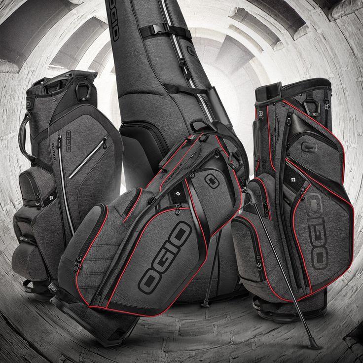 Dark Static Collection // #golf #cartbag #standbag #tournament #sport #lifesyle #OGIO