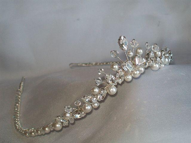 Wishbone tiara - fit for a princess bride!